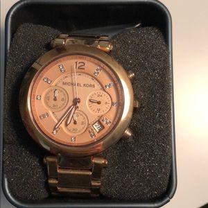 Rose Gold Women's Michael Kors Watch